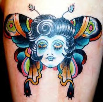 Tatuagens estilo Old School