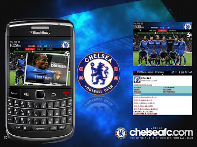 Theme Chelsea For BlackBerry