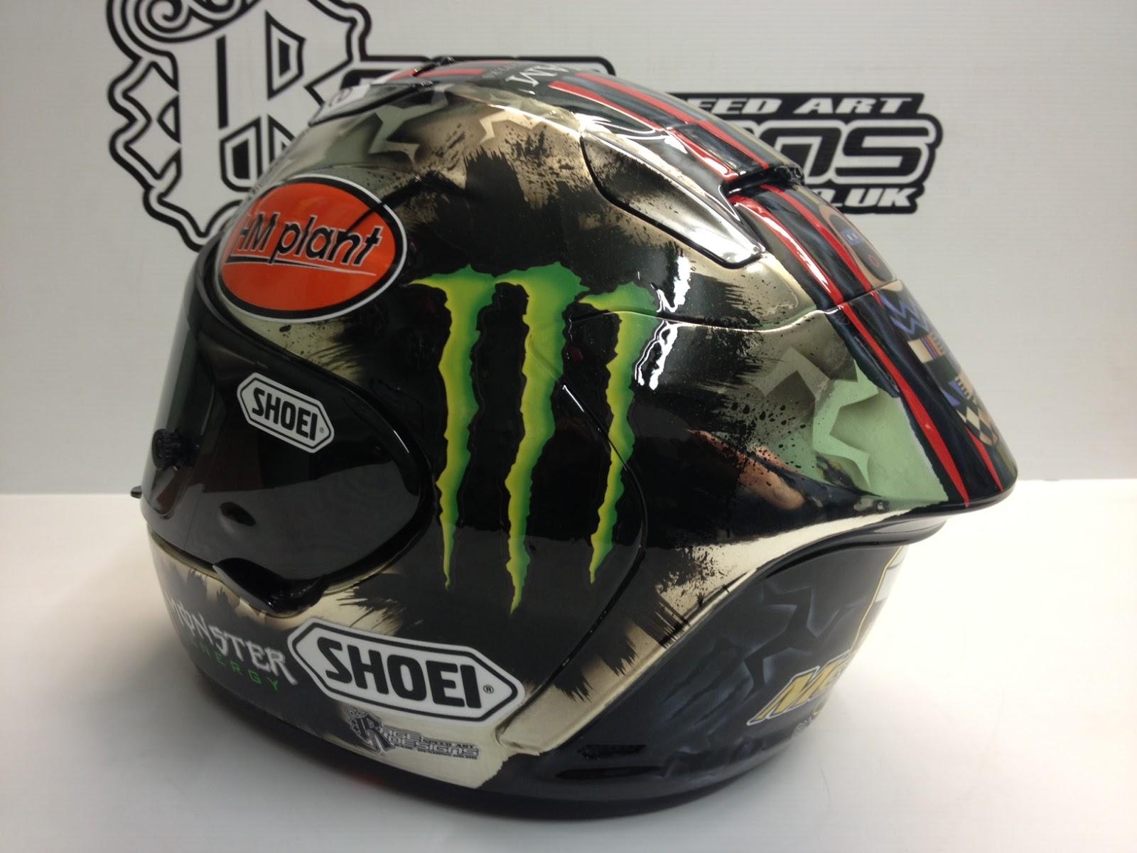 racing helmets garage shoei x spirit ii j mcguinness iomtt 2013 by rage designs. Black Bedroom Furniture Sets. Home Design Ideas