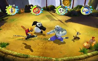 Kunfu panda guerrero legandario