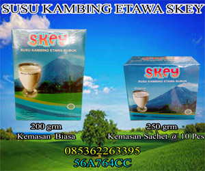 Harga Susu Etawa Aceh