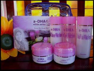 DHA White Series Kemasan
