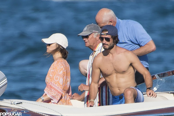 Prince Carl Philip of Sweden and Princess Sofia, King Carl XVI Gustaf and Queen Silvia of Sweden