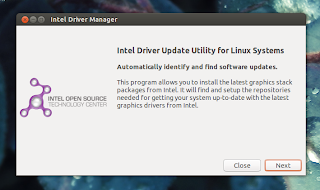 Intel Linux Graphics Installer