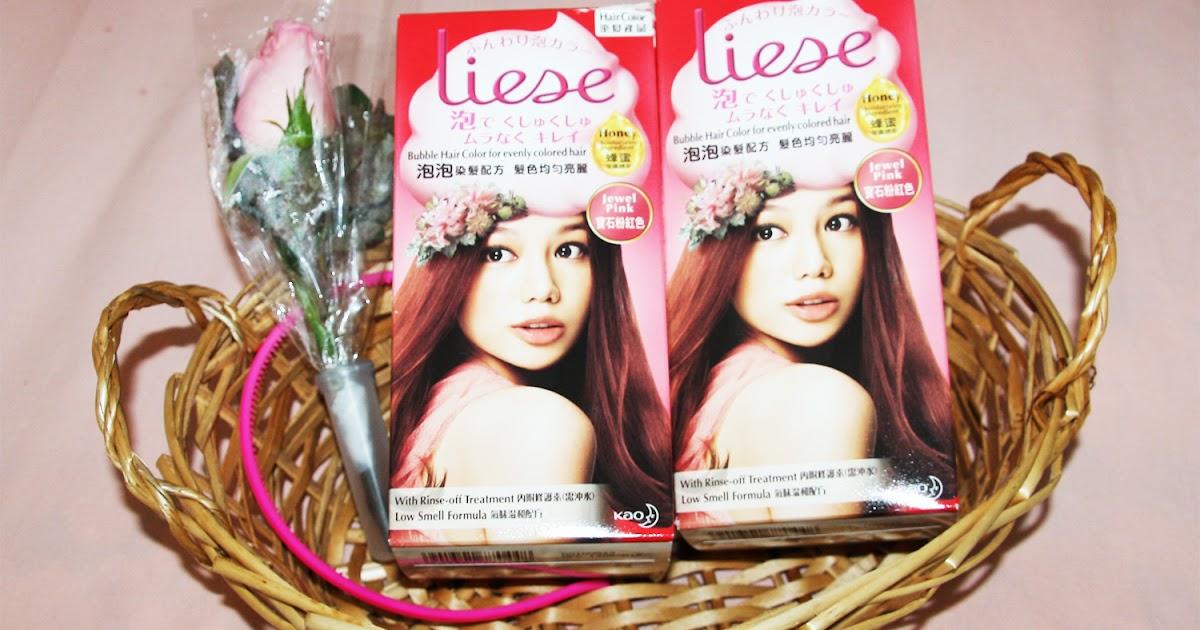 Rachelays Review Liese Bubble Hair Color Jewel Pink