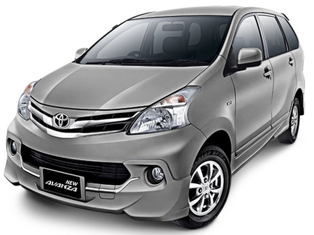 Toyota All New Avanza Gray Metallic