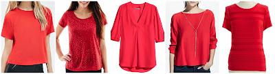 Forever 21 Raglan Sleeve Blouse $14.99 (regular $22.90)  I Jeans by Buffalo Short Sleeve Sequin Front Shirt $19.99 (regular $30.00)  H&M V-Neck Blouse $29.95  Mango Pendant Flowy Blouse $29.99 (regular $29.99)  Calvin Klein Pleated Short Sleeved Blouse $39.99 (regular $59.00)