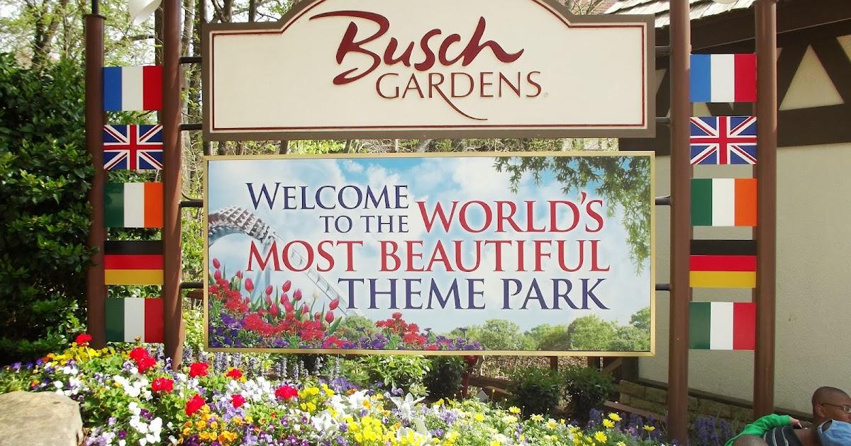 Fun Things To Do With Kids Bush Gardens Theme Park In Williamsburg Virginia