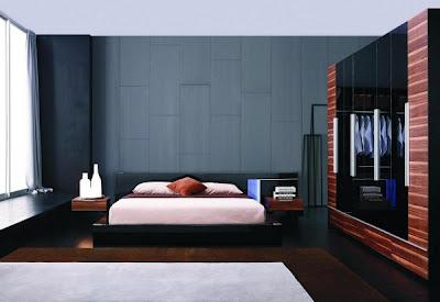 habitación matrimonial minimalista