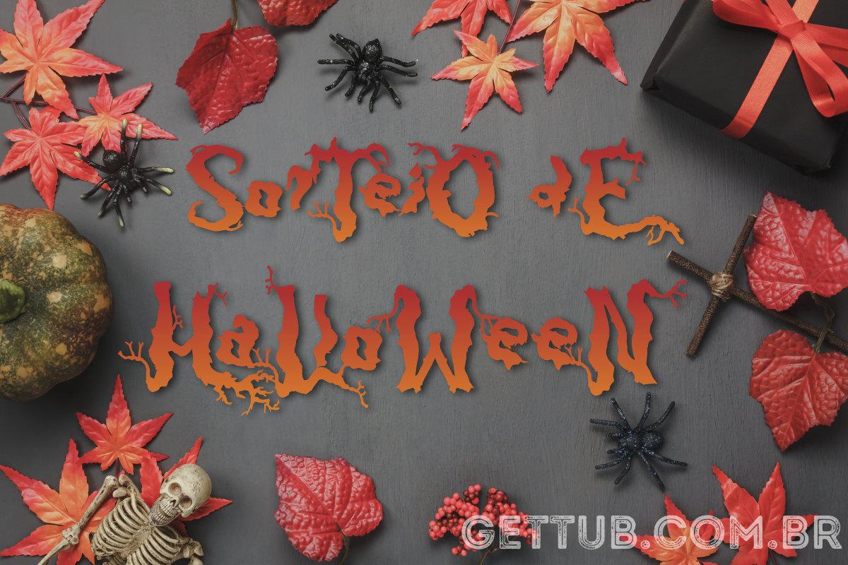 Sorteio Halloween