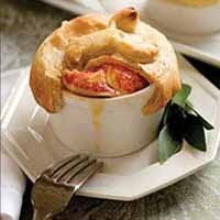 Weight Loss Recipes : Home-style Turkey Pot Pie