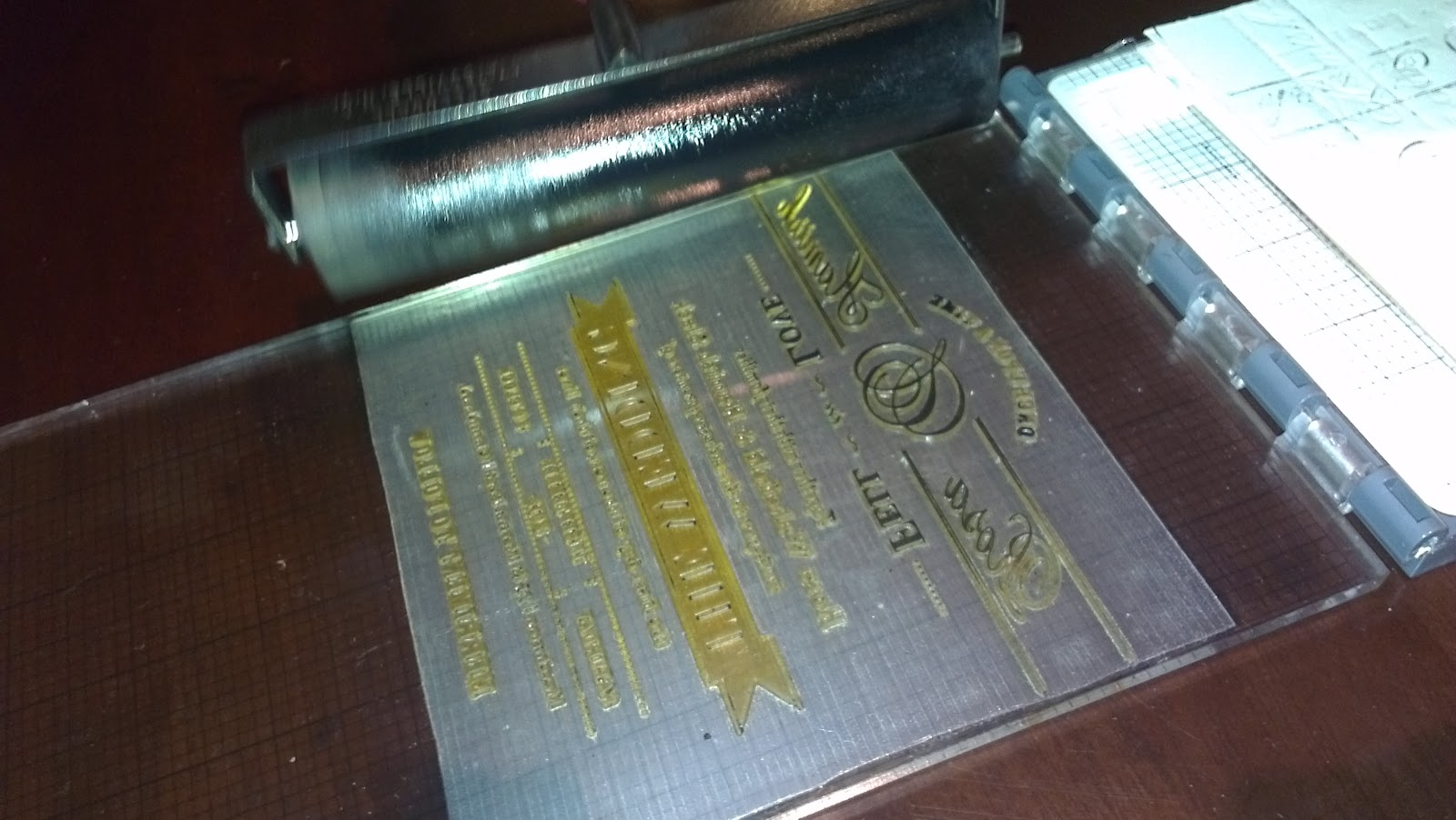 The wedding hacker how to letterpress your own wedding invitations solutioingenieria Images