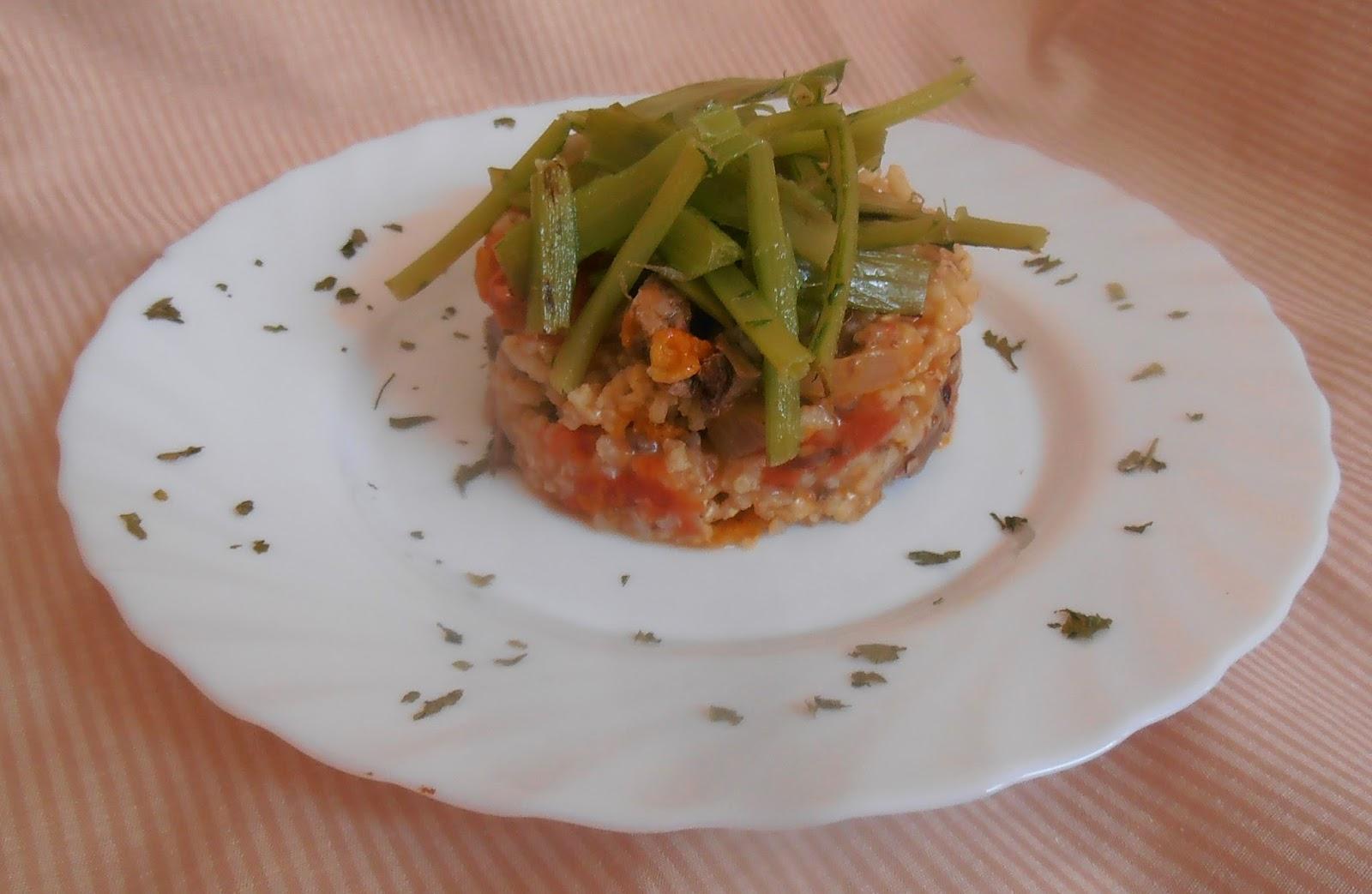 Se orita mandarina arroz integral con higaditos y cardillos for Arroz blanco cocina al natural