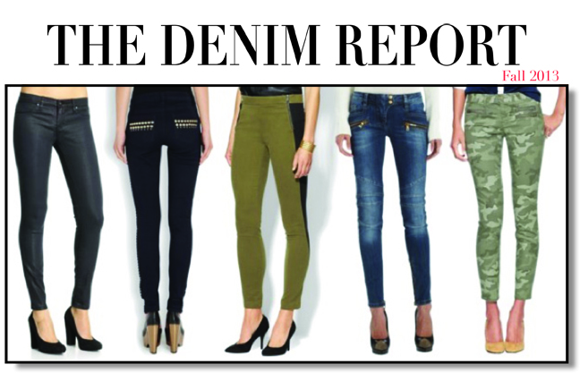 Fall Denim Trends 2013