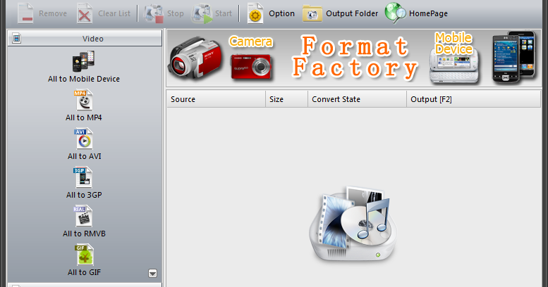 Download Aplikasi Convert Paling Bagus FORMAT FACTORY