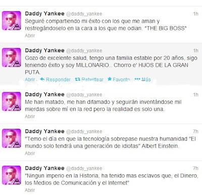 twitter Daddy Yankee