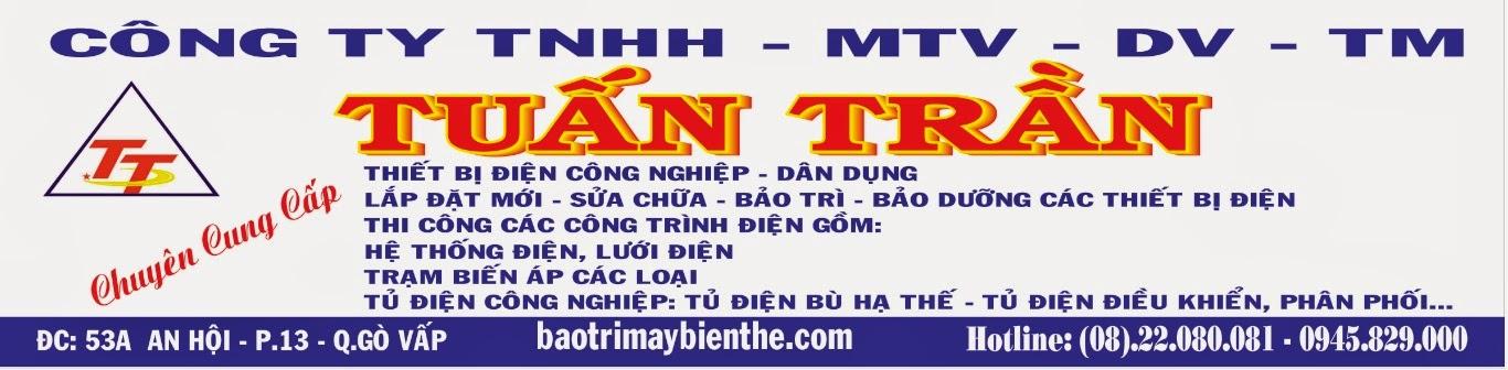 CÔNG TY TNHH MTV DV TM  XÂY LẮP ĐIỆN TUẤN TRẦN