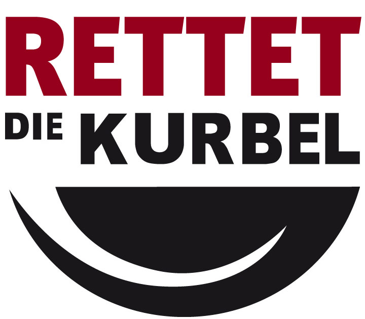 RETTET DIE KURBEL