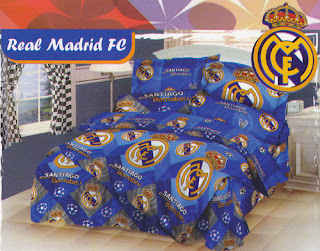 Sprei Love Story Real Madrid FC