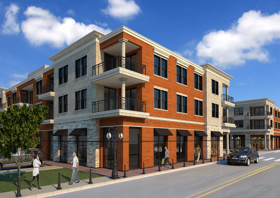 Design mixed use buildings retail and residential for Home designs jackson ms