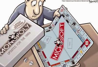 Monopolio Microsoft, ¿ahora Google?