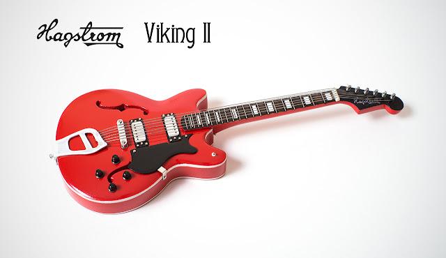 Миниатюрная копия гитары Hagstrom Viking II. Ручная работа. Hande made. Кирилл Росляков