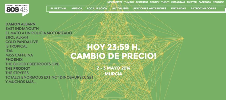 música, SOS 48, 2014