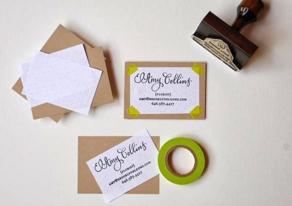 60 DIY Business Cards: Design Your Own Business Cards ...
