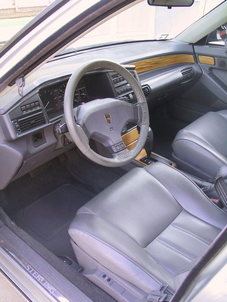just a car geek 1991 sterling 827sli ex press car. Black Bedroom Furniture Sets. Home Design Ideas