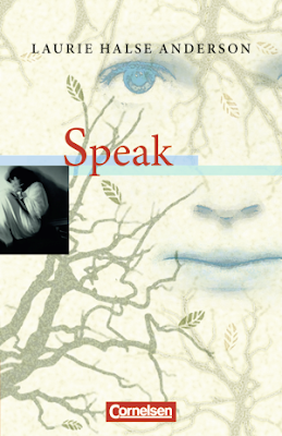 analysis of laurie halse andersons speak Melinda, a high school freshman, is the protagonist in laurie halse anderson's speak the summer before starting high school, she was raped by a senior student, andy evans the summer before starting high school, she was raped by a senior student, andy evans.