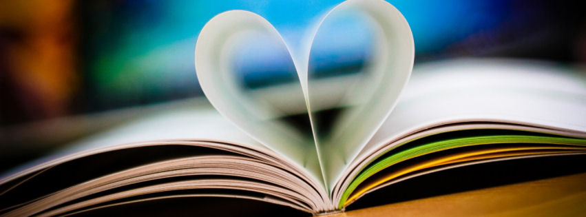 Love book facebook cover