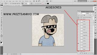 cara membuat avatar tahilalats dengan photoshop