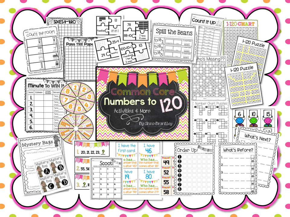 http://www.teacherspayteachers.com/Product/Common-Core-Numbers-to-120-Activities-and-More-834499
