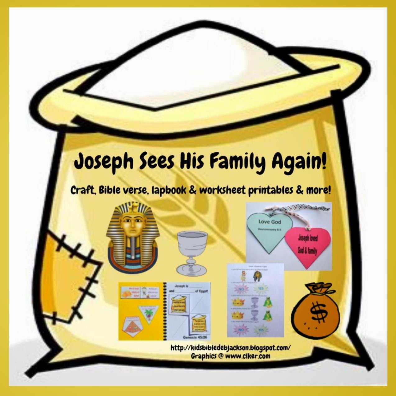Joseph Egypt Craft Our Joseph in Egypt Lesson