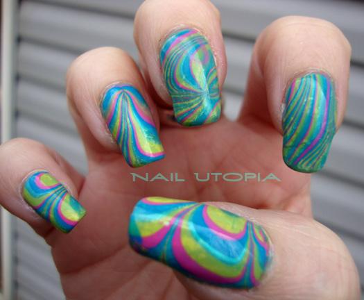 marble nail art-116