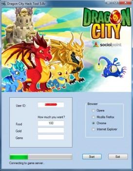 dragon city pc hack