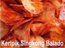Keripik Singkong Balado, Teman Setia Saat Nge-Blog