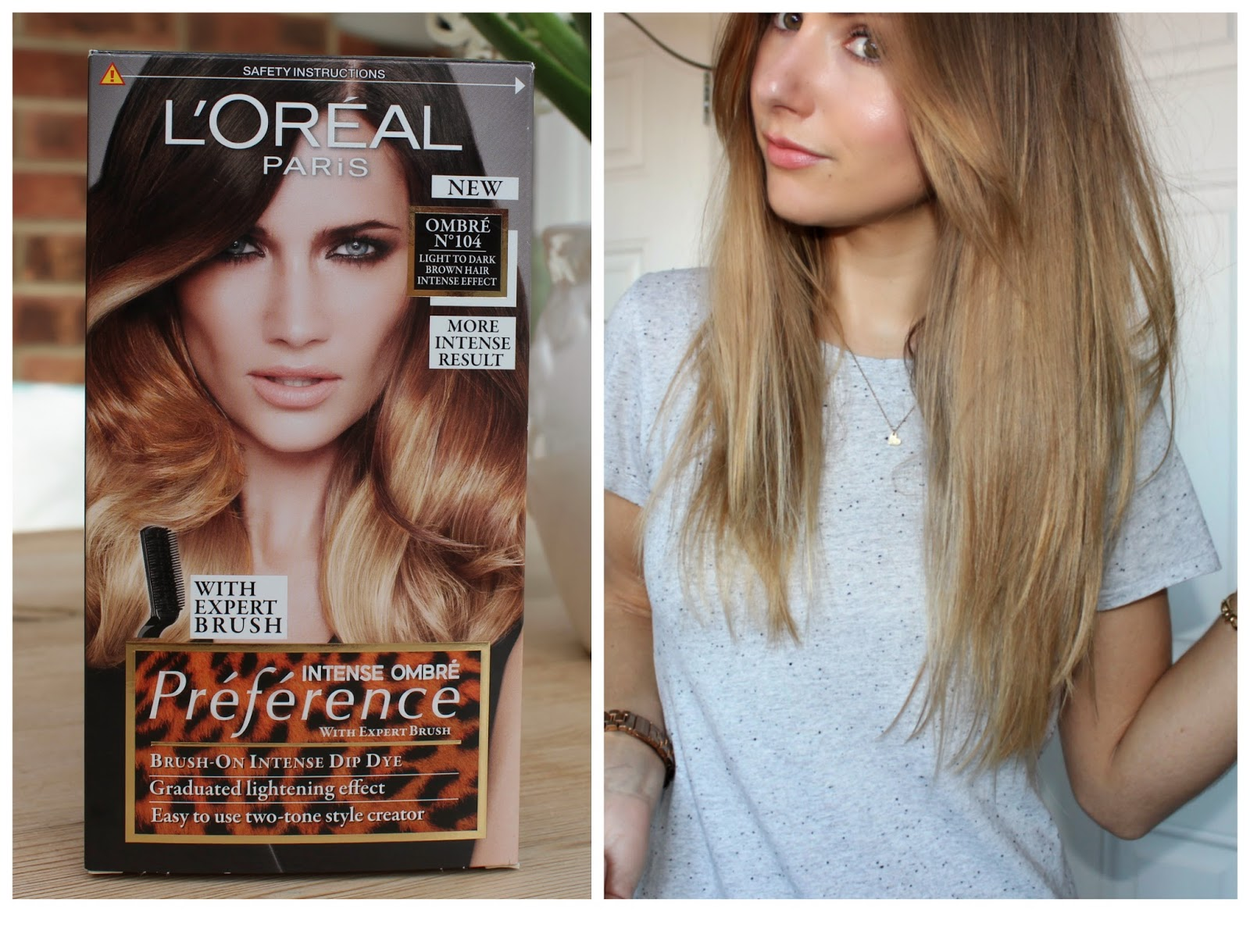 Beauty Le Chic The Perfect Diy Dip Dye With Loreal Intense