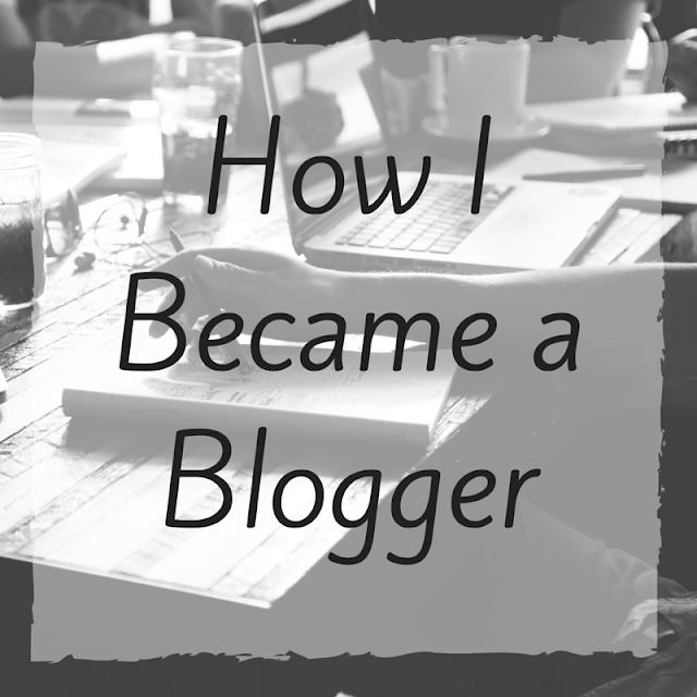 How I Became a Blogger