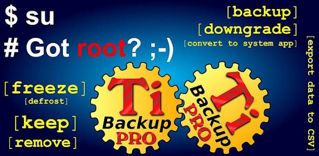 Titanium Backup Pro Full APK