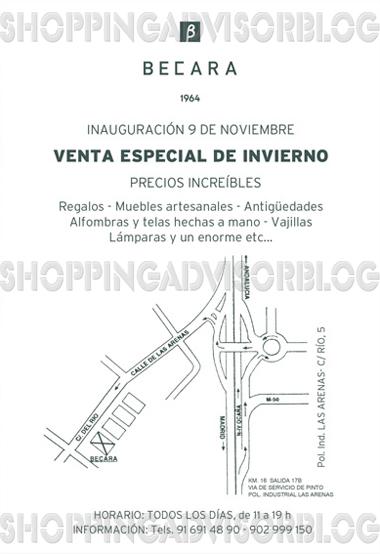 Shopping advisor a la rica ganga venta especial navide a - Muebles becara outlet ...