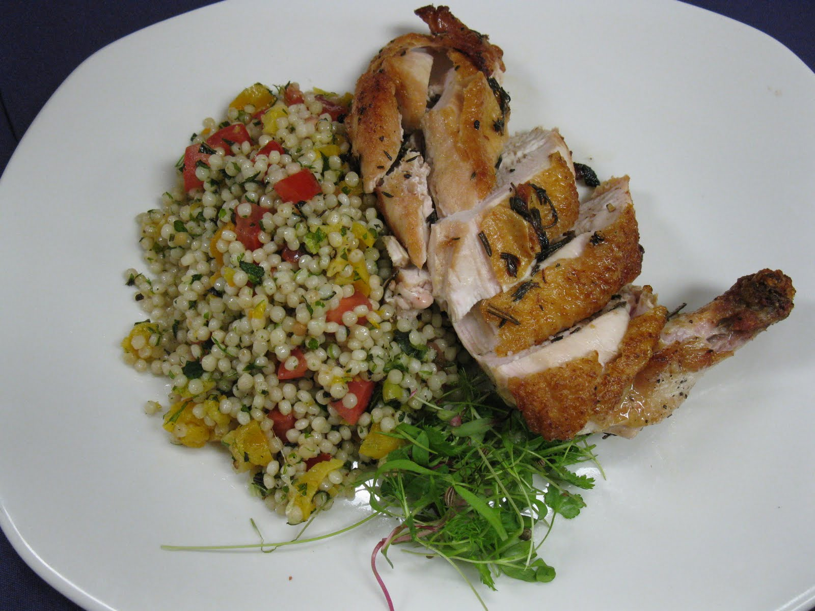 Pan-Fried Chicken Breasts With Corn & Tomato Summer Salad ...