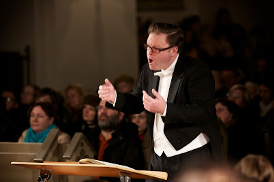 Conductor Simon Murphy and State Choir Latvia