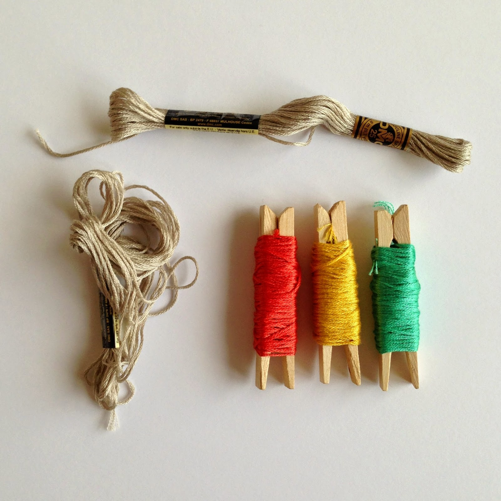 Precocious Paper Embroidery Floss Tip  Love My Fabrics
