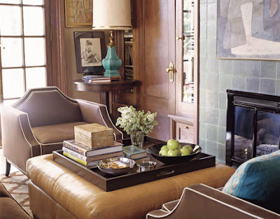 leather ottoman coffee table IDEAS