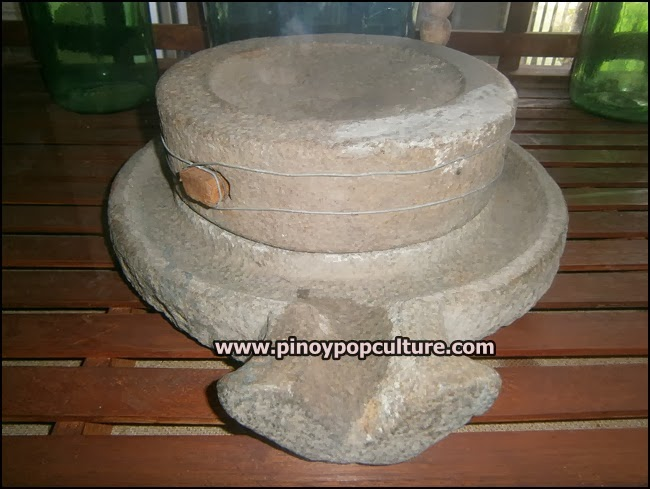 gilingang bato, millstone