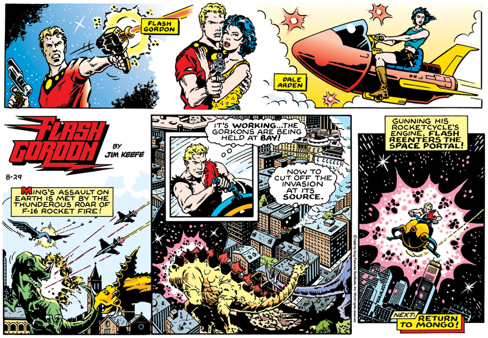 Everybody This comic flash gordon strip best girl