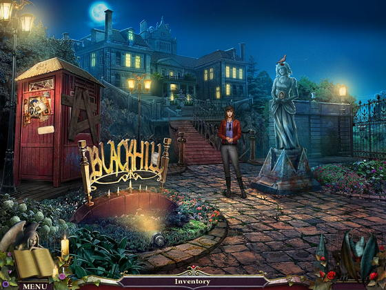 Nightfall Mysteries: Black Heart Collector's Edition Screenshot 2