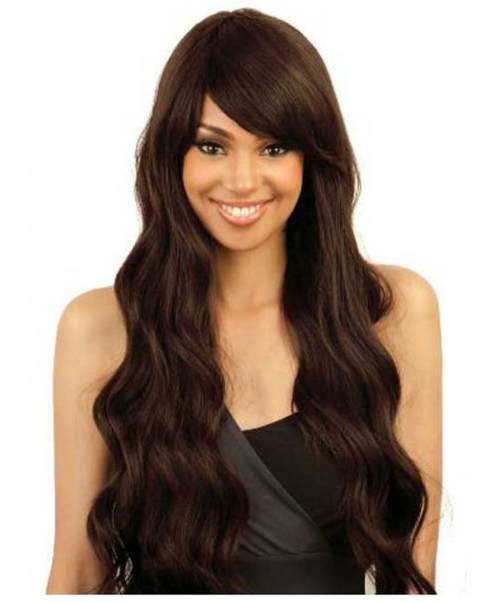 Isis Brazilian Brown Sugar 100% Remy Human Hair Mix Wig BS102
