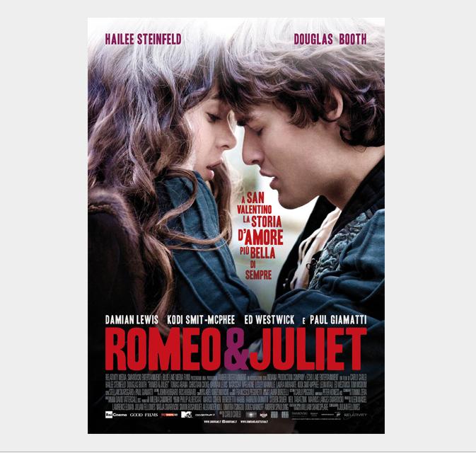 DA GIOVEDì 12 FEBBRAIO 2015 AL CINEMA CINQUANTA SFUMATURE DI GRIGIO E ROMEO&JULIET